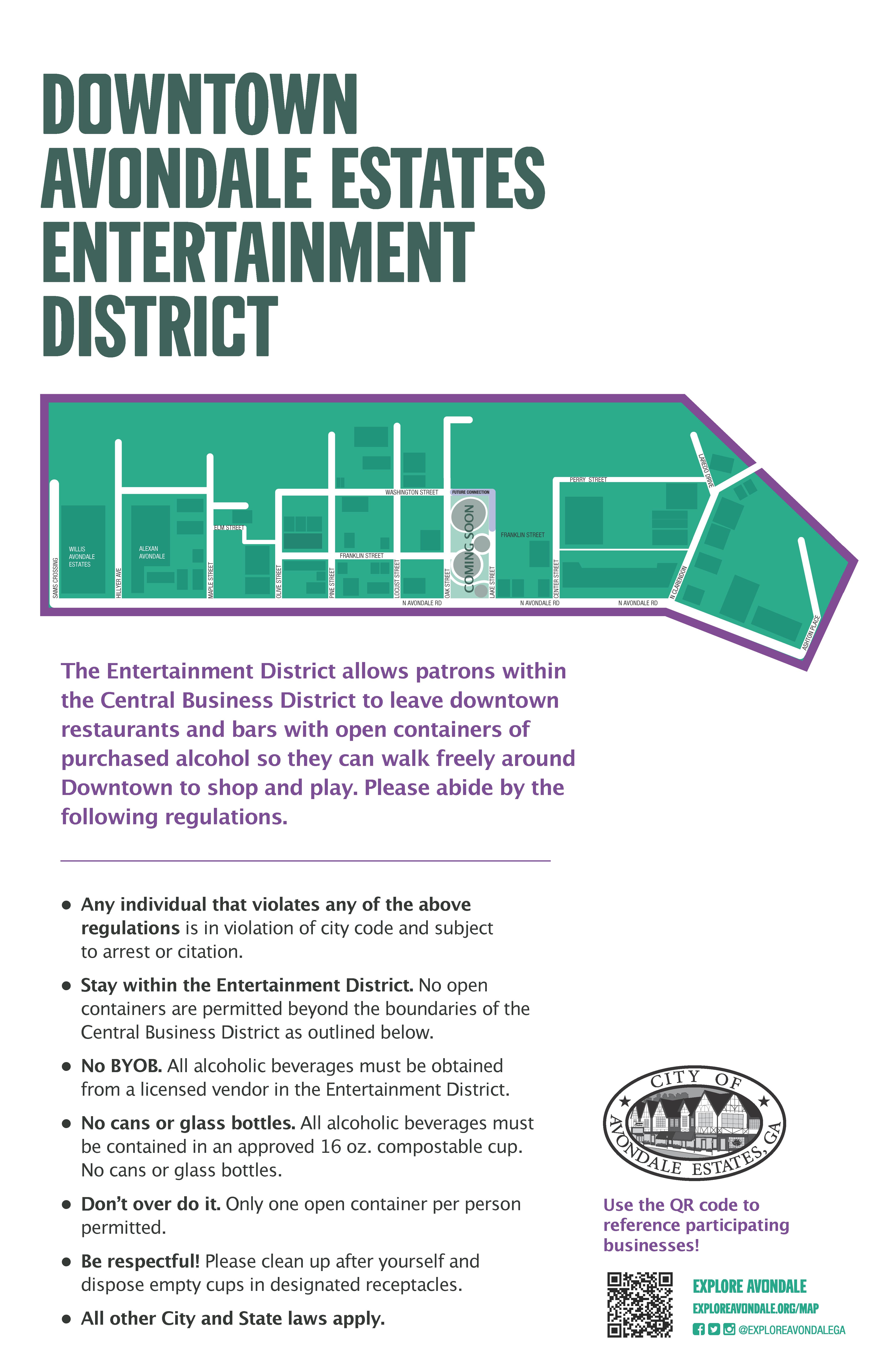Avondale Estates Entertainment District
